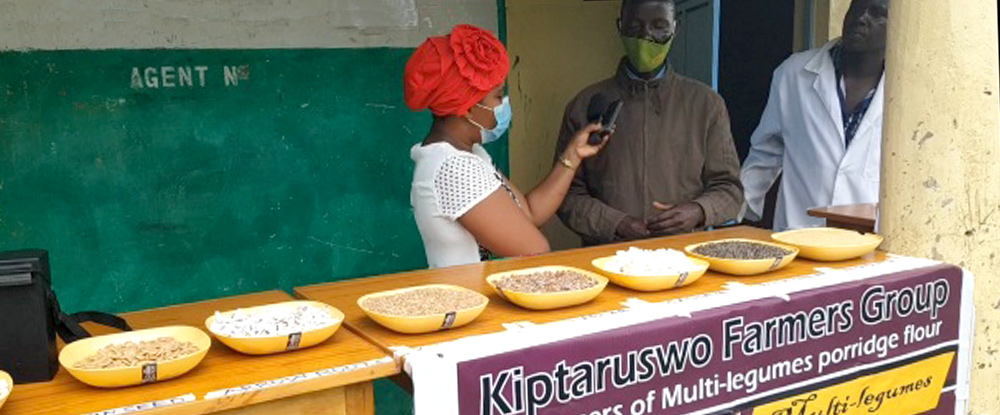Multipurpose Legumes Project:Kiptaruswo Farmers Group