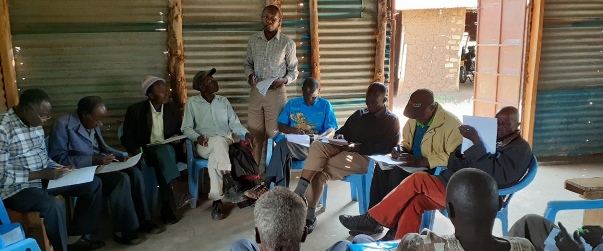 Farmers share knowledge about sorghum